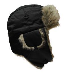 Fur hat for kids 1183