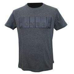 Grafiitinharmaa T-paita
