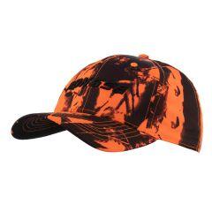 Orange camo cap